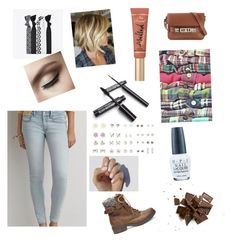 """""""Everyday style"""" by yellowsnails on Polyvore featuring American Eagle Outfitters, Steve Madden, Proenza Schouler, OPI and Too Faced Cosmetics"""