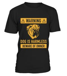 """# Bullmastiff Gift For Mom Or Dad .  Get your funny Bullmastiff shirt here.Secured payment via Visa / Mastercard / Amex / PayPal / iDealAre you looking for a nice gift for a Bullmastiff owner? Then check out our design """"Warning: dog is harmless, beware of owner"""" Bullmastiff edition.Makes a great present for a birthday party, mother's day or father's day for example. Different colours and designs areavailable.▼ORDER BELOW BY CLICKING THE 'GREEN BUTTON' (Order 2 or more to save on shipping)▼"""