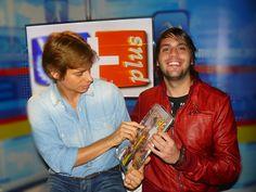 Daniel Pereira junto al exito cantante venezolano Carlos Baute @Danielpereiratm