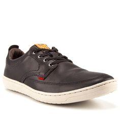 1049f1cc3d Sapatênis Masculino Kildare Newquay Couro Black - Studio Z Calçados