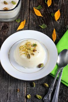 Tender Coconut Pudding - http://www.collaborativecurry.com/2012/03/tender-coconut-pudding.html