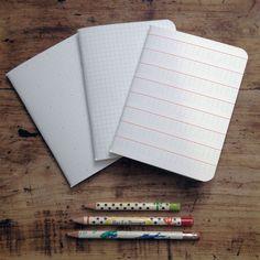 Monsieur Papier • Les 3 petits carnets