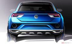 Volkswagen Previews New 'T-ROC' SUV Concept