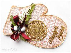 Kartko - rękawiczka świąteczna