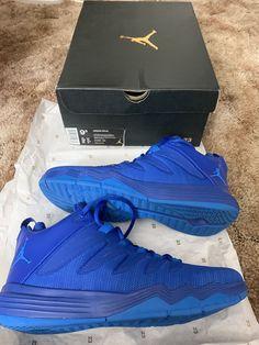 new concept 55cec 395ca Details about Jordan CP3 VI Chris Paul 3 Silver Yellow Black Men s  Basketball Shoes Size 9.5