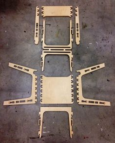 Woodworking With A Router Plywood Projects, Easy Woodworking Projects, Woodworking Plans, Router Projects, Cnc Router, Eames Rocking Chair, Rocking Chair Nursery, Flexible Plywood, Cnc Plans