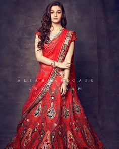 Looking to Buy Lehenga Online: Buy Indian lehenga choli online for brides at best price from Andaaz Fashion. Choose from a wide range of latest lehenga choli designs. Indian Lehenga, Bollywood Lehenga, Red Lehenga, Bridal Lehenga Choli, Bollywood Fashion, Bollywood Actress, Anarkali, Bollywood Images, Bollywood Bridal