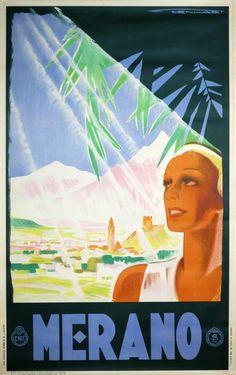 Merano Italy 1934 Franz Lenhart