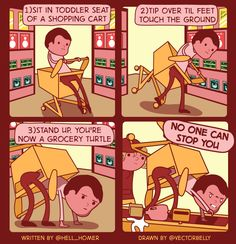 A little @vectorbelly comics for your amusement. - Imgur