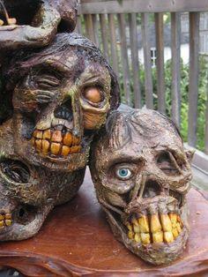 A Stack of Skulls