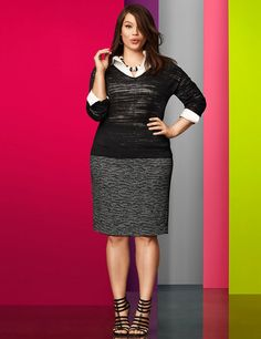 06becfbe477 16 Awesome Plus size pencil skirt images