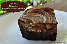 Swirled Cheesecake Brownies  (S)