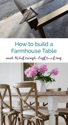 Have you been longing for a farmhouse table as seen on Fixer Upper and in all of the houses that Chip and Joanna decorate in Waco? We have complete DIY instructions to build your own farm table for a fraction of retail cost! Plus you'll find a step by ste