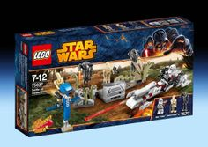 75037 Battle on Saleucami (2014) - 178 pieces, 5 mini-figures.