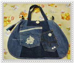 CREA by THEA: jeans tas