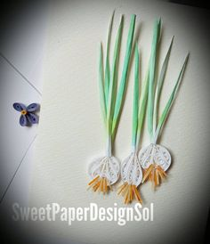 Paper Quilling ONION card for Any Occasion. by SweetPaperDesignSol