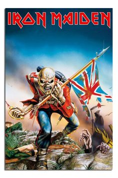 METAL HEROES 24x36 MUSIC BANDS 01482 ART COLLAGE POSTER