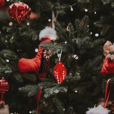 Set of 3 Christmas Tree Ornaments