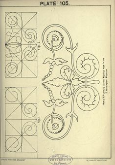 A text book with chapters on elements, principles, and methods of freehand drawing, for the general use of teachers and students . Stencil Designs, Applique Designs, Designs To Draw, Tangle Patterns, Embroidery Patterns, Zentangle, Tambour Beading, Ornament Drawing, Ancient Greek Art