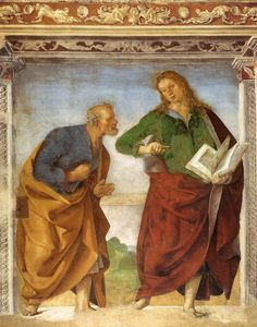 Luca_Signorelli_-_The_Apostles_Peter_and_John_the_Evangelist_-_WGA21268.jpg 979×1,247 píxeles