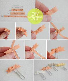 Ayuda a tus hijos a hacer estos clips y lleva uno siempre contigo, cuando tengas un mal momento en el trabajo y lo veas, sonreirás.