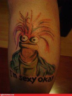 "Hello Pepe, King Prawn ""I'm sexy okay"""