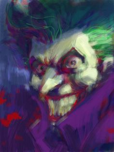 The Joker by Jim Lee via iPad