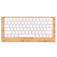 SAMDI Wood Keyboard Tray / Drawer for IMac Bluetooth Bracket Dock Keyboard Mount / Platform / Rack for PC / Magic Keyboard for the second generation(Bamboo) Desk Tidy, Office Desk, Usb, Mac Pc, Apple Magic, Apple Products, Computer Keyboard, Wood Crafts, Back To School