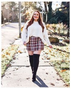 Plus Size Winter Outfits, Winter Mode Outfits, Plus Size Fall Outfit, Cute Fall Outfits, Winter Fashion Outfits, Casual Outfits, Fashion Ideas, Plus Size Winter Clothes, Size 14 Outfits