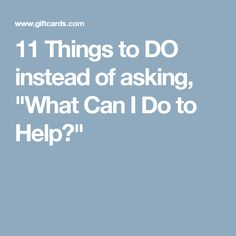 11 Things to DO inst