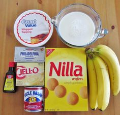 cream cheese instant vanilla pudding milk Nilla wafers sweetened condensed milk ripe bananas vanilla extract Cool Whip The post The best banana pudding appeared first on Dessert Factory. Banana Pudding Desserts, Southern Banana Pudding, Homemade Banana Pudding, Banana Recipes, Banana Pudding Condensed Milk, Baked Banana Pudding, Cool Whip Banana Pudding, Vanilla Wafer Banana Pudding, Sweets