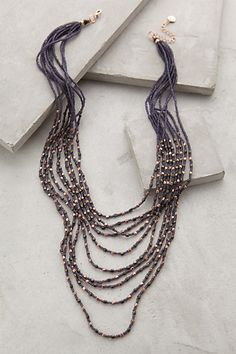 Indra Layered Necklace - anthropologie.com. Love the colors!