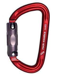 2x Alloy Steel O Shape Climbing Carabiner Tree Rigging Rescue Clip Hook 25KN