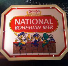 National Bohemian Beer 1985 Character Light Natty Boh