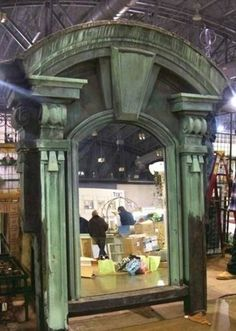A sample of what you can find shopping for architectural salvage.