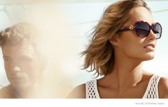 d3f128c1f60f Karmen Pedaru is the face of Michael Kors, for the Michael as well as the  mainline. For the spring-summer 2015 campaign Karmen is posing for Mario  Testino