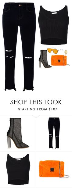 """""""Untitled #1384"""" by yimikuskus ❤ liked on Polyvore featuring adidas Originals, J Brand, 321, Gentle Monster, Jimmy Choo and Movado"""