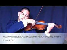 Marcha Nupcial de Felix Mendelssohn - Música para Bodas - violín - YouTube
