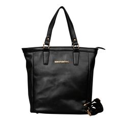Michael Kors Jet Set North South Medium Black Totes only $71.99