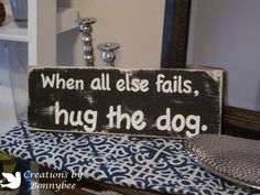 Creations by Bonnybee: Distressed Wood Sign