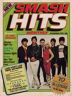 Smash Hits: November 1978 | The First Issues Of 22 British Magazines