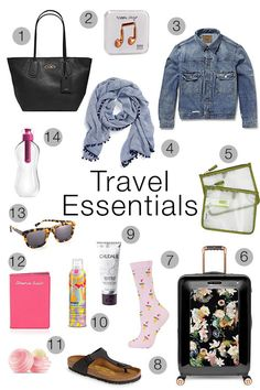 Travel Essentials - As Told By Ash and Shelbs
