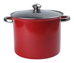Aramco Alpine Gourmet Carbon Steel NonStick Coating Stock Pot 75 quart Red *** More info could be found at the affiliate link Amazon.com on image.