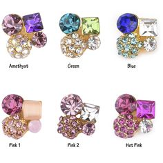 10pcs  Amethyst Square clear stone for nails decoration nail strass 3d nail jewelry DIY nails art YNS24Z-in Rhinestones & Decorations from Health & Beauty on Aliexpress.com | Alibaba Group