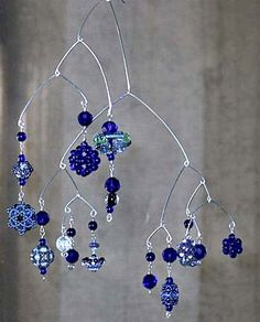 Instead of necklaces we could make mobiles for our future midwifery practices...for our offices, over exam tables, or over infant exam space
