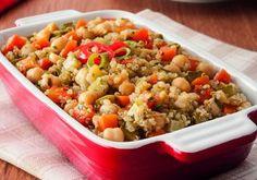 Cozido marroquino com quinoa