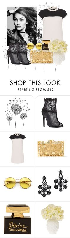 """""""Untitled #812"""" by brandi-gurrola on Polyvore featuring jcp, Paule Ka, Charlotte Olympia, Wildfox, Kate Spade, Dolce&Gabbana and Cultural Intrigue"""