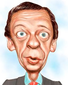 Don Knotts. Just look at that face. How can you not laugh?                                                                                                                                                     More