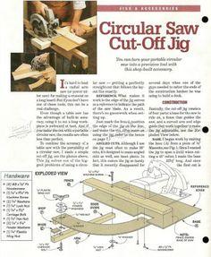 #2551 Circular Saw Cut Off Jig - Circular Saw