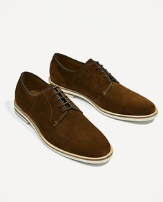 413aa3488bc Image 2 of SPLIT SUEDE CASUAL LEATHER SHOES from Zara Zara, Sport, Oxford  Schoenen